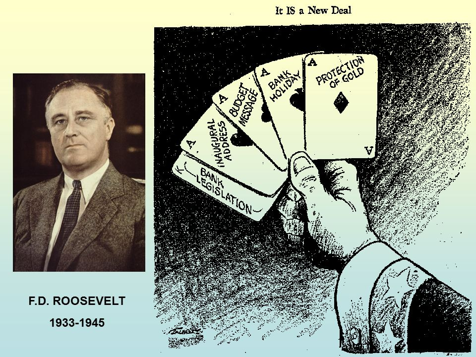 F.D. ROOSEVELT 1933-1945