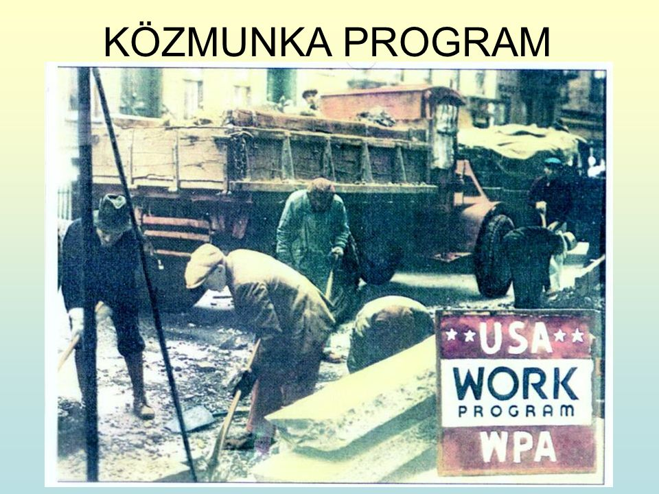 KÖZMUNKA PROGRAM