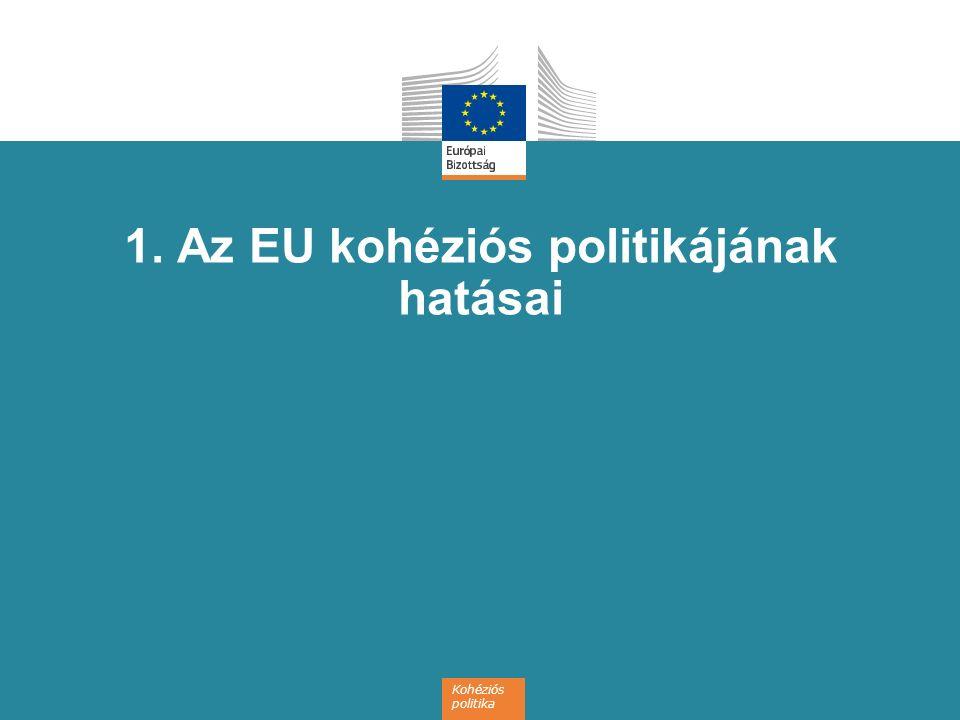 1. Az EU kohéziós politikájának hatásai