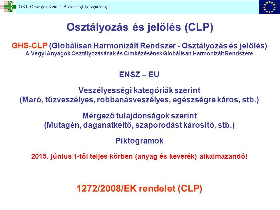 Osztályozás és jelölés (CLP)