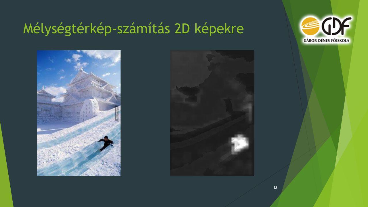 Mélységtérkép-számítás 2D képekre