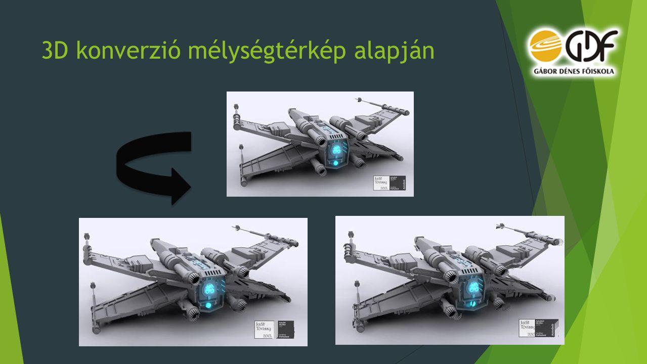 3D konverzió mélységtérkép alapján