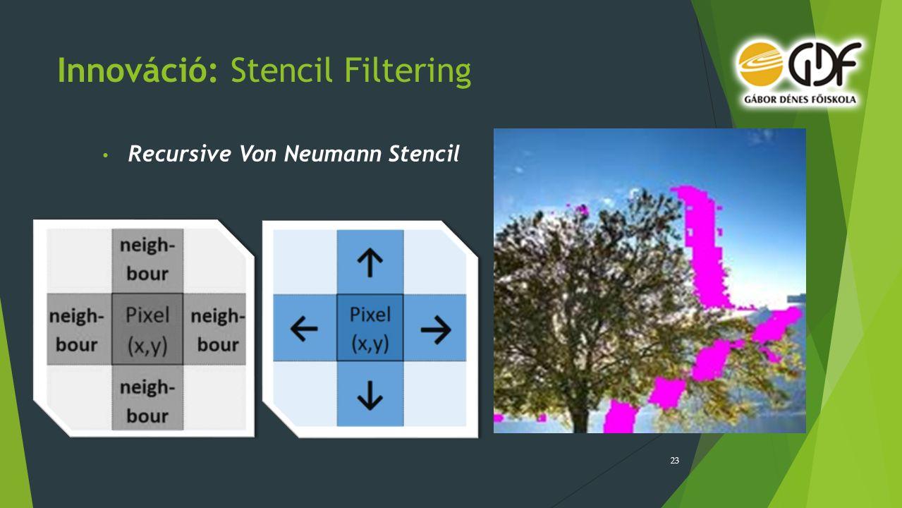 Innováció: Stencil Filtering