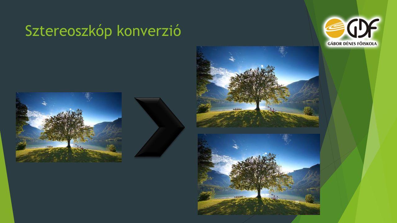 Sztereoszkóp konverzió