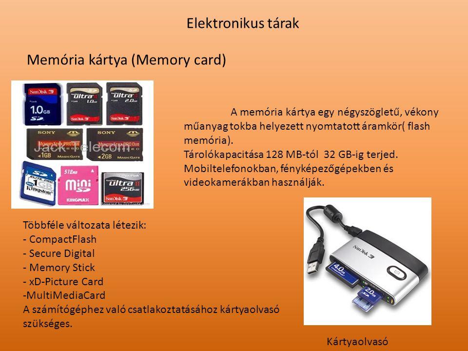 Memória kártya (Memory card)