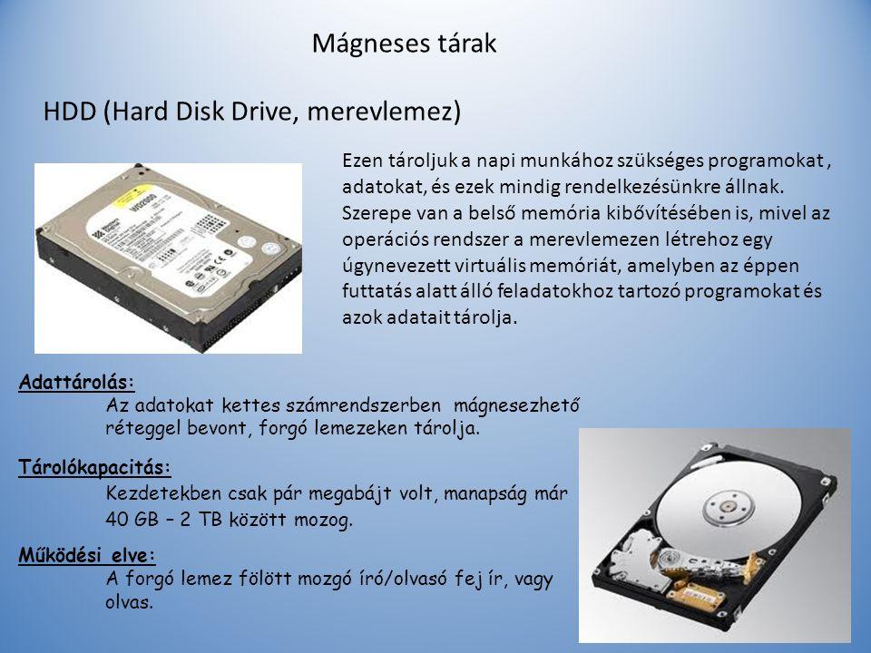HDD (Hard Disk Drive, merevlemez)