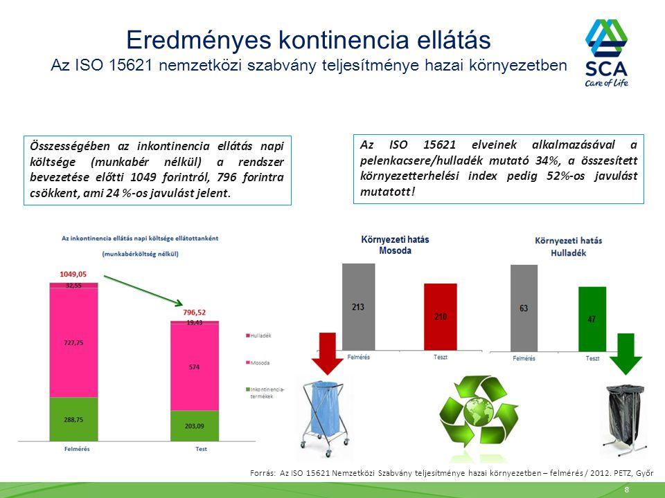 Eredményes kontinencia ellátás Az ISO 15621 nemzetközi szabvány teljesítménye hazai környezetben