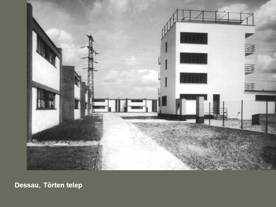 Dessau, Törten telep