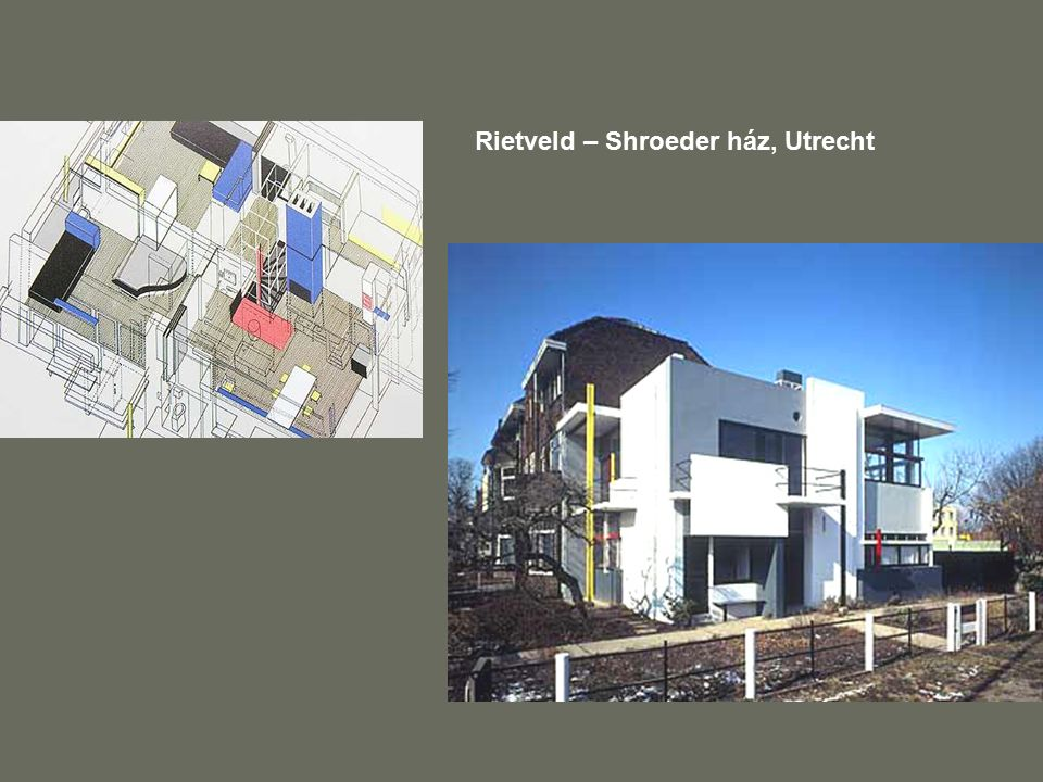 Rietveld – Shroeder ház, Utrecht