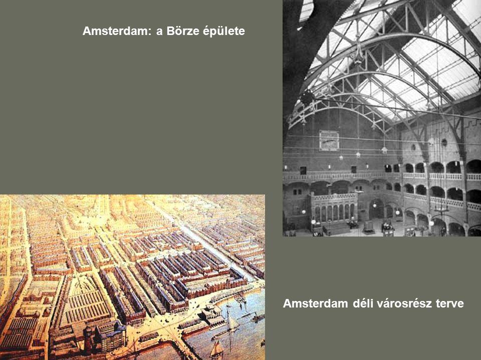 Amsterdam: a Börze épülete