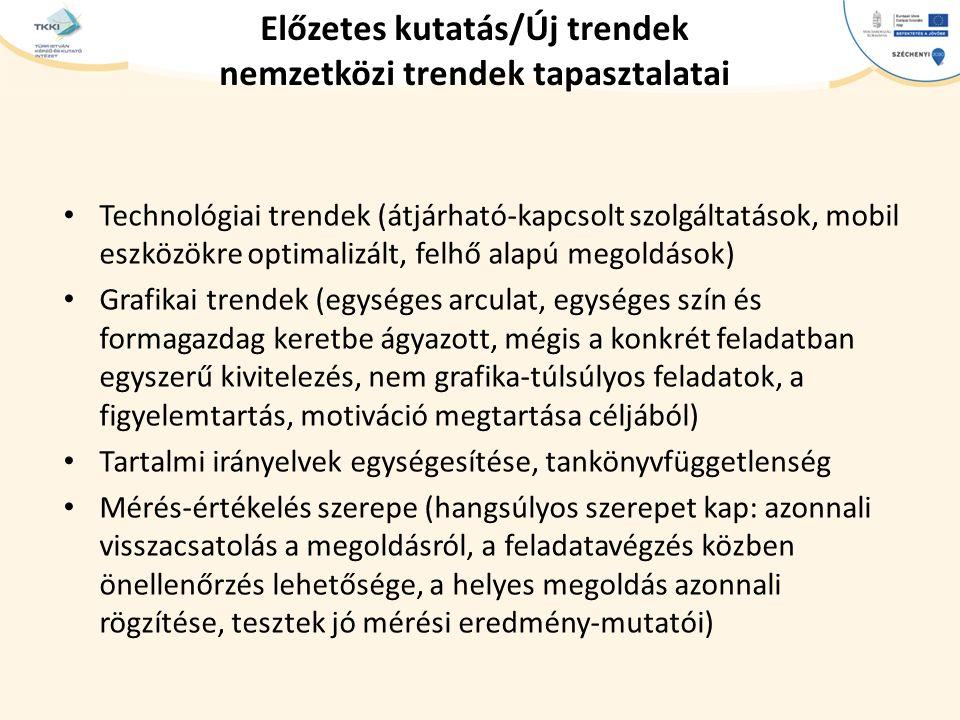 Előzetes kutatás/Új trendek nemzetközi trendek tapasztalatai