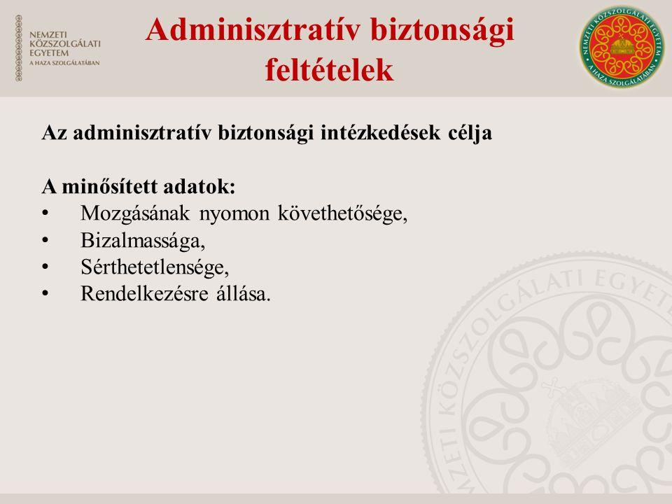 Adminisztratív biztonsági