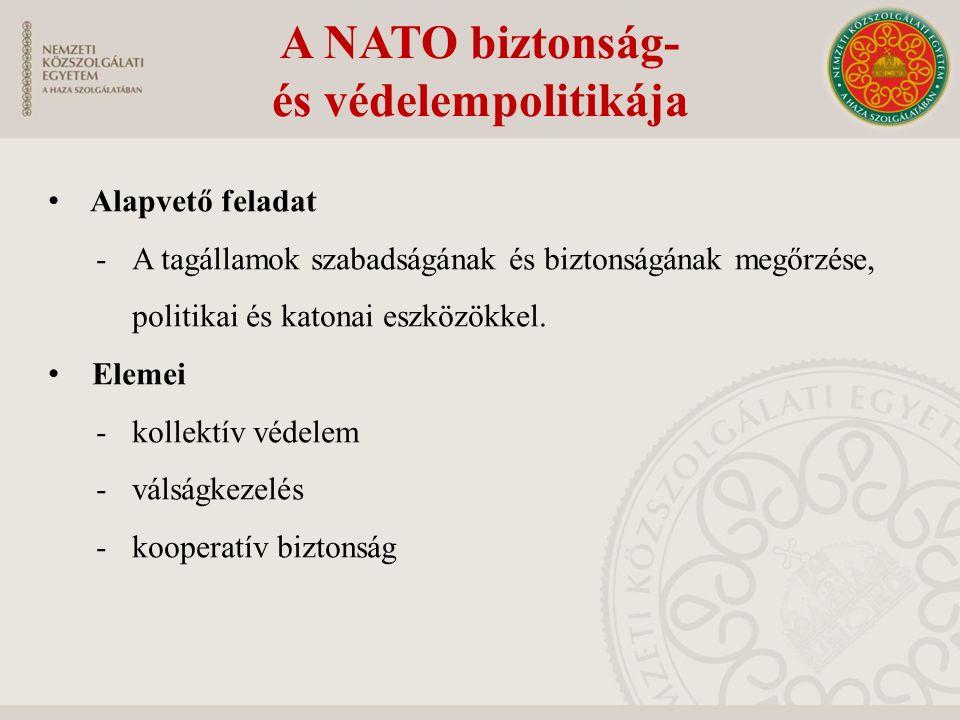 A NATO biztonság- és védelempolitikája