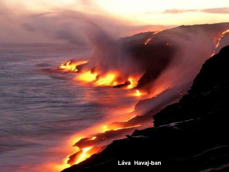 Láva Havaj-ban