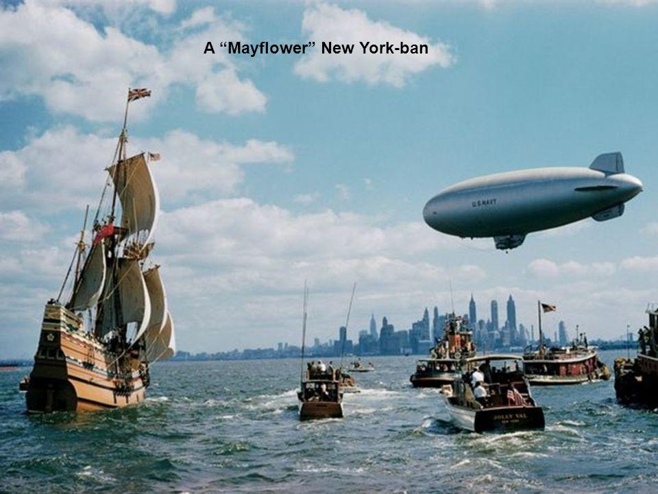 A Mayflower New York-ban