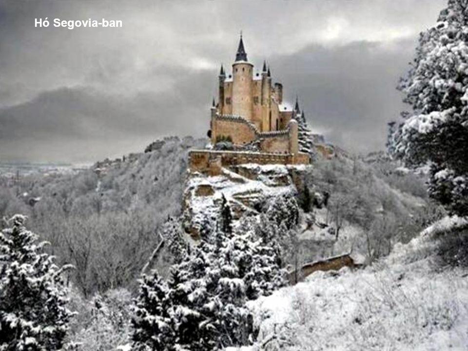 Hó Segovia-ban