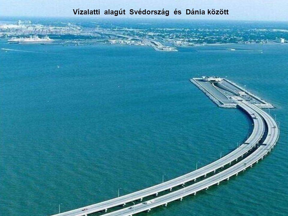 Vízalatti alagút Svédország és Dánia között