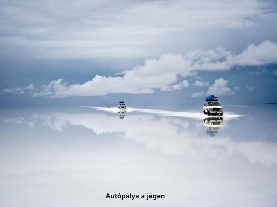 Autópálya a jégen