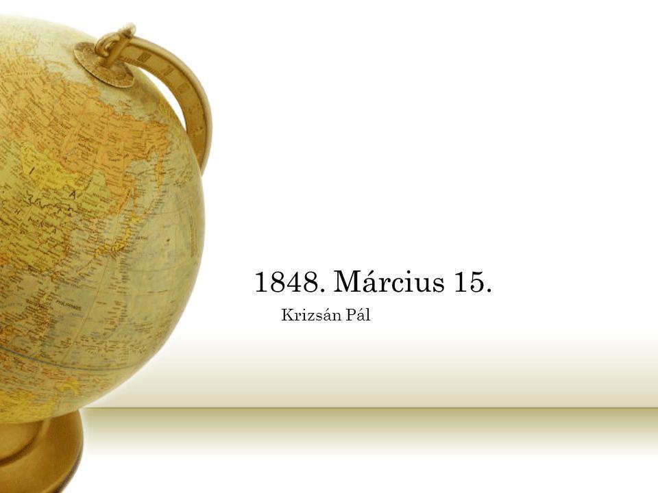 1848. Március 15. Krizsán Pál