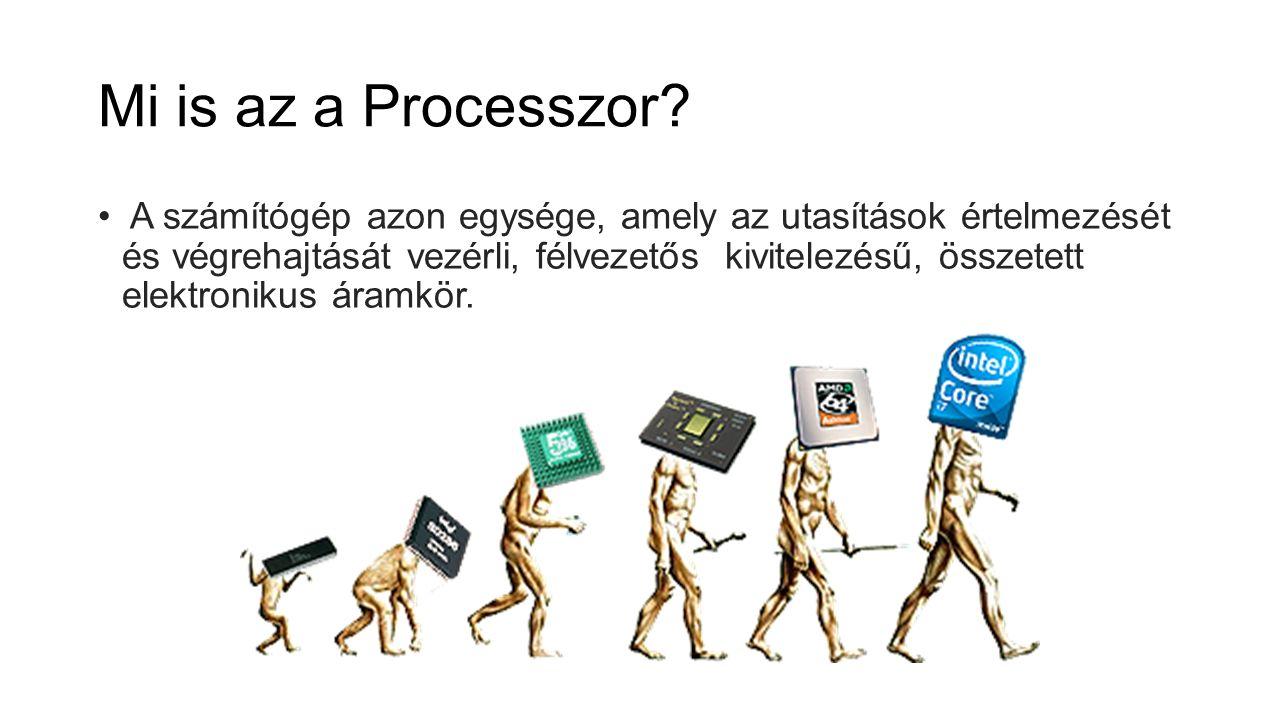 Mi is az a Processzor