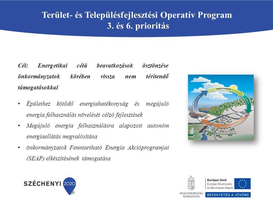 Terület- és Településfejlesztési Operatív Program 3. és 6. prioritás