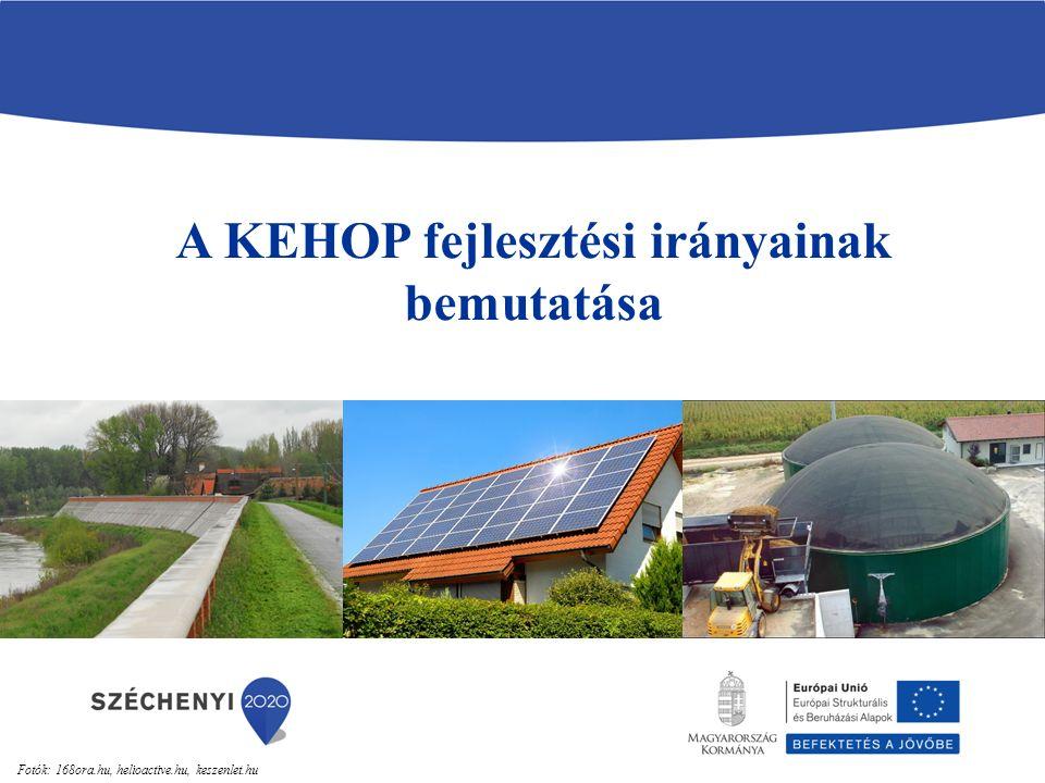 A KEHOP fejlesztési irányainak bemutatása