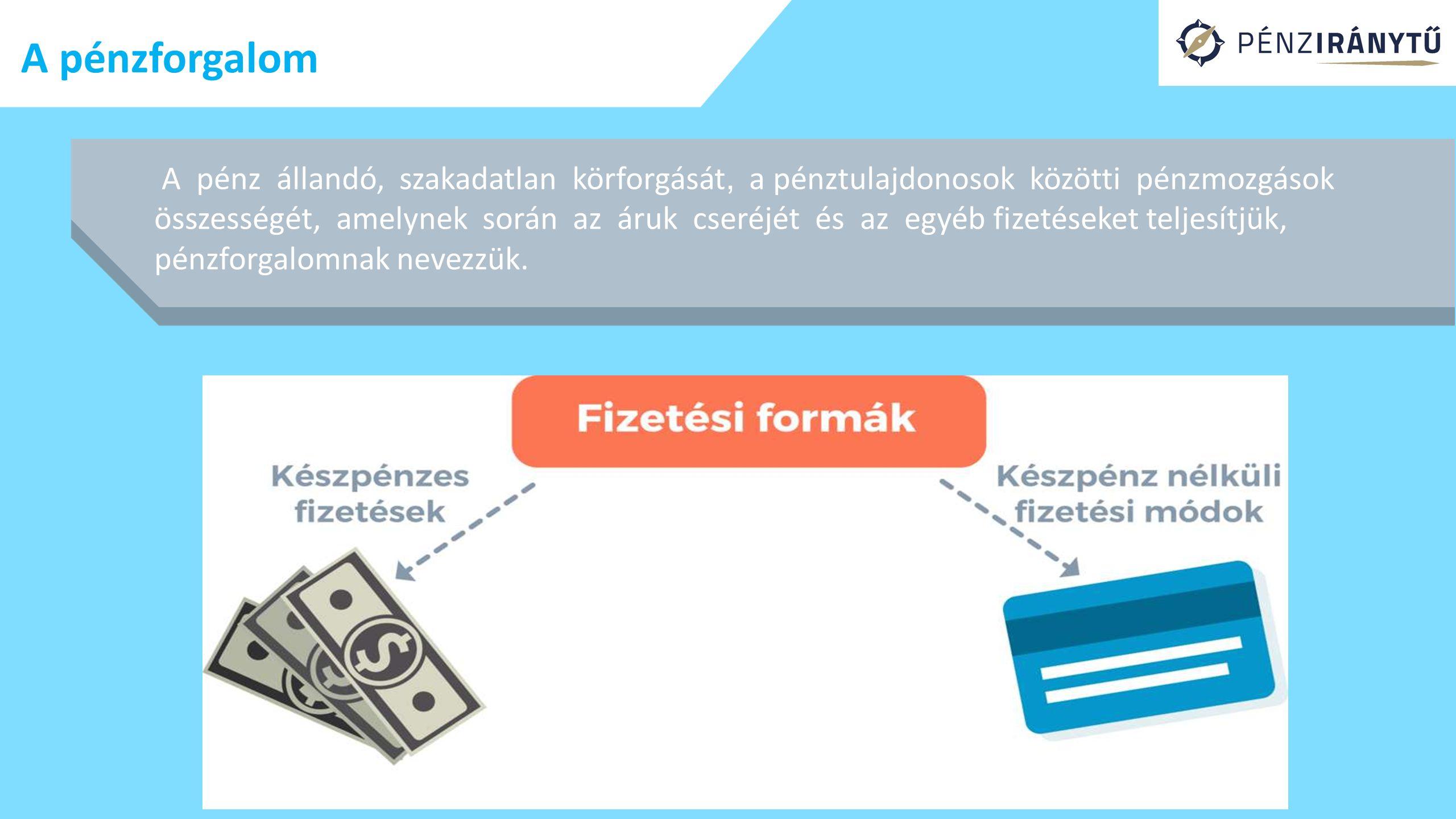 A pénzforgalom