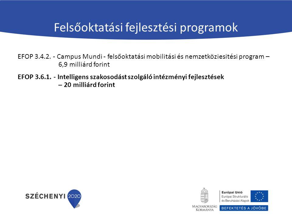 Felsőoktatási fejlesztési programok