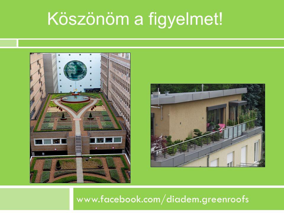 Köszönöm a figyelmet! www.facebook.com/diadem.greenroofs