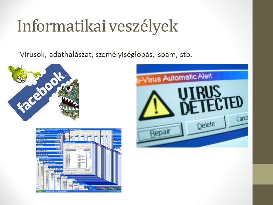 Informatikai veszélyek