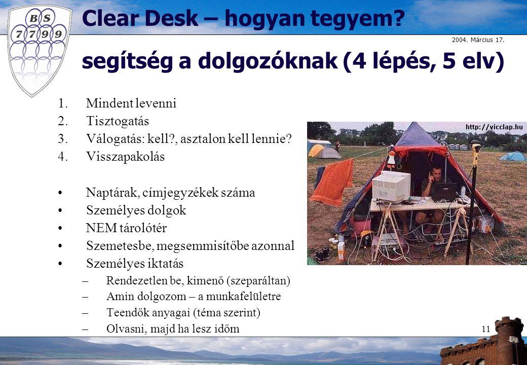 Clear Desk – hogyan tegyem segítség a dolgozóknak (4 lépés, 5 elv)