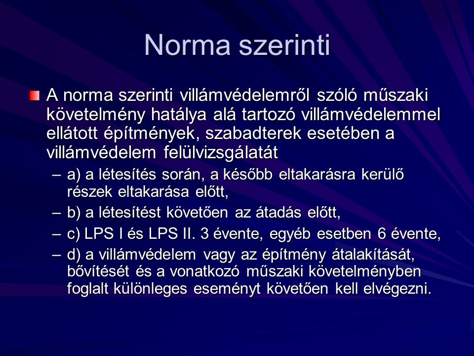 Norma szerinti