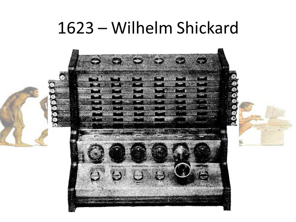1623 – Wilhelm Shickard