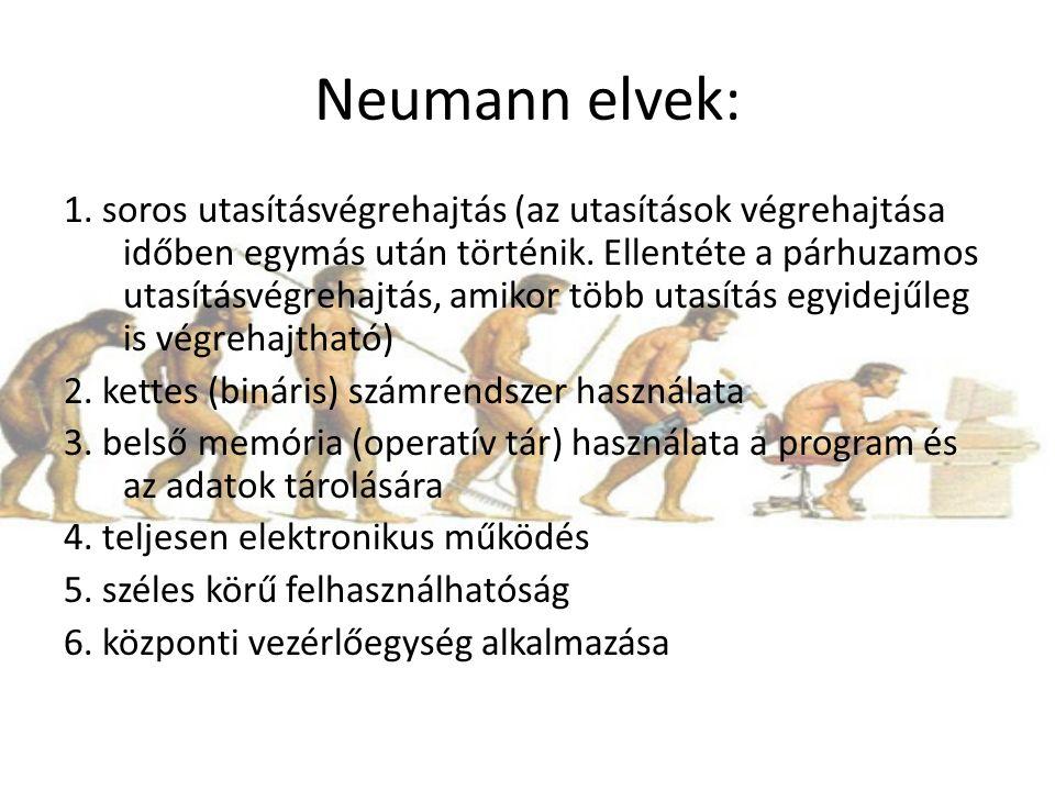 Neumann elvek: