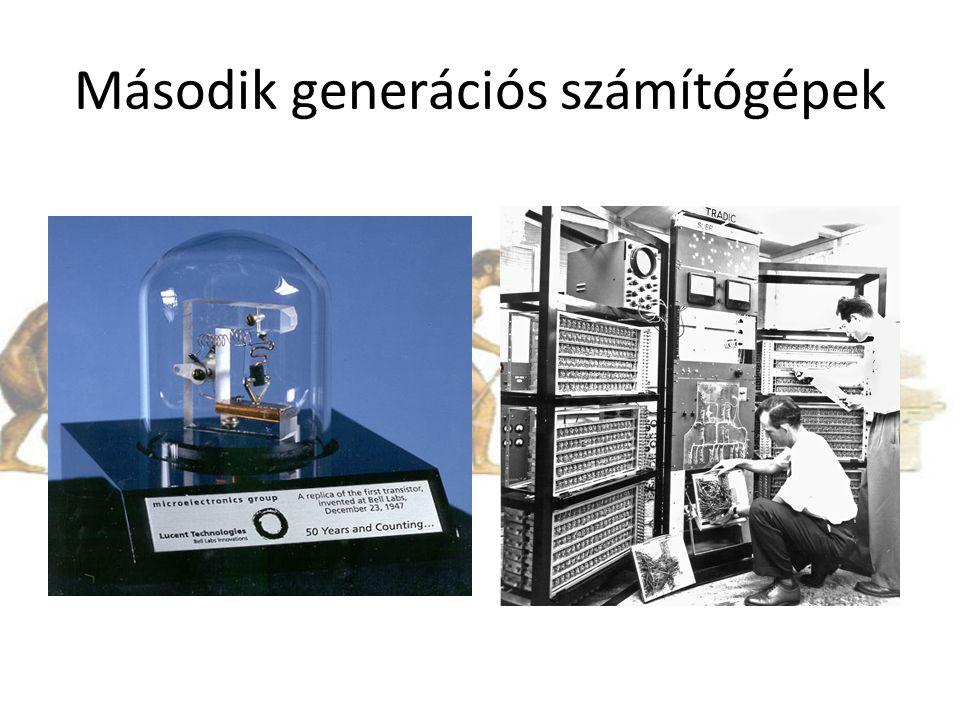Második generációs számítógépek