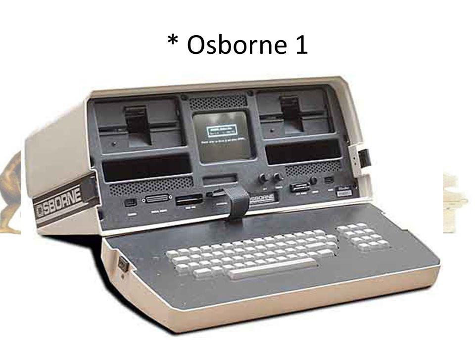 * Osborne 1