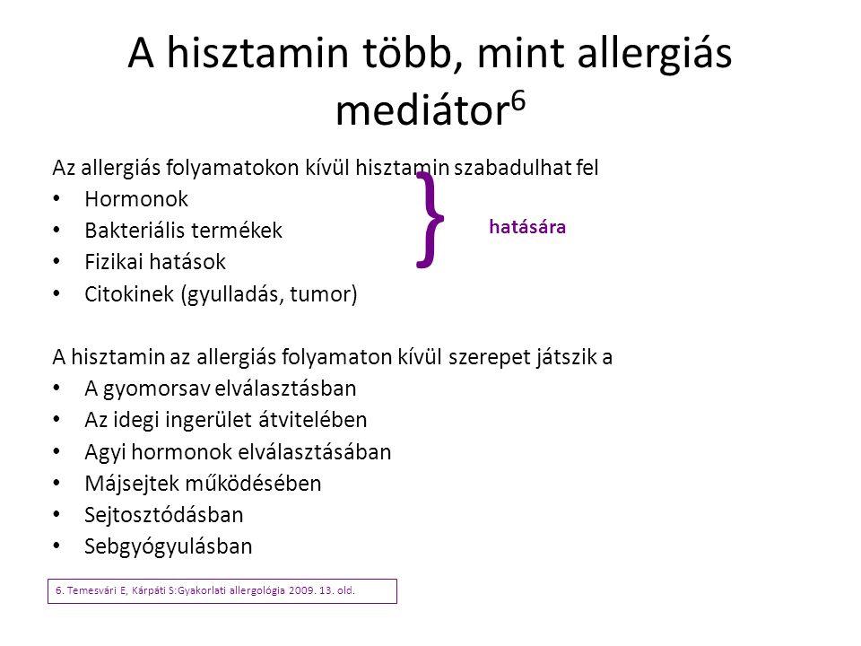 A hisztamin több, mint allergiás mediátor6