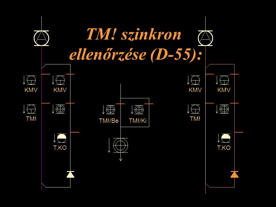 TM! szinkron ellenőrzése (D-55):