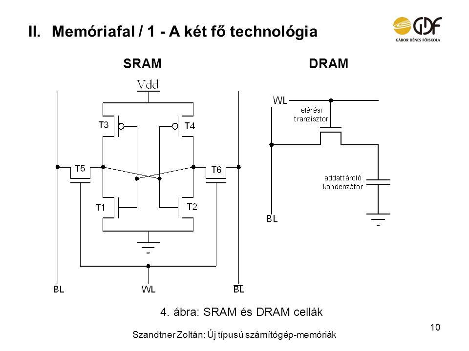 Memóriafal / 1 - A két fő technológia