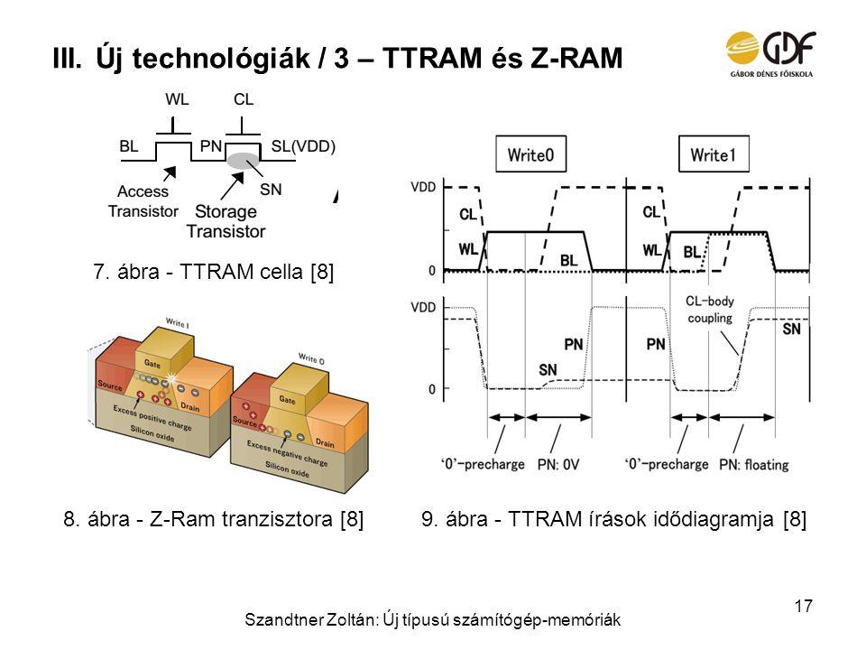 Új technológiák / 3 – TTRAM és Z-RAM