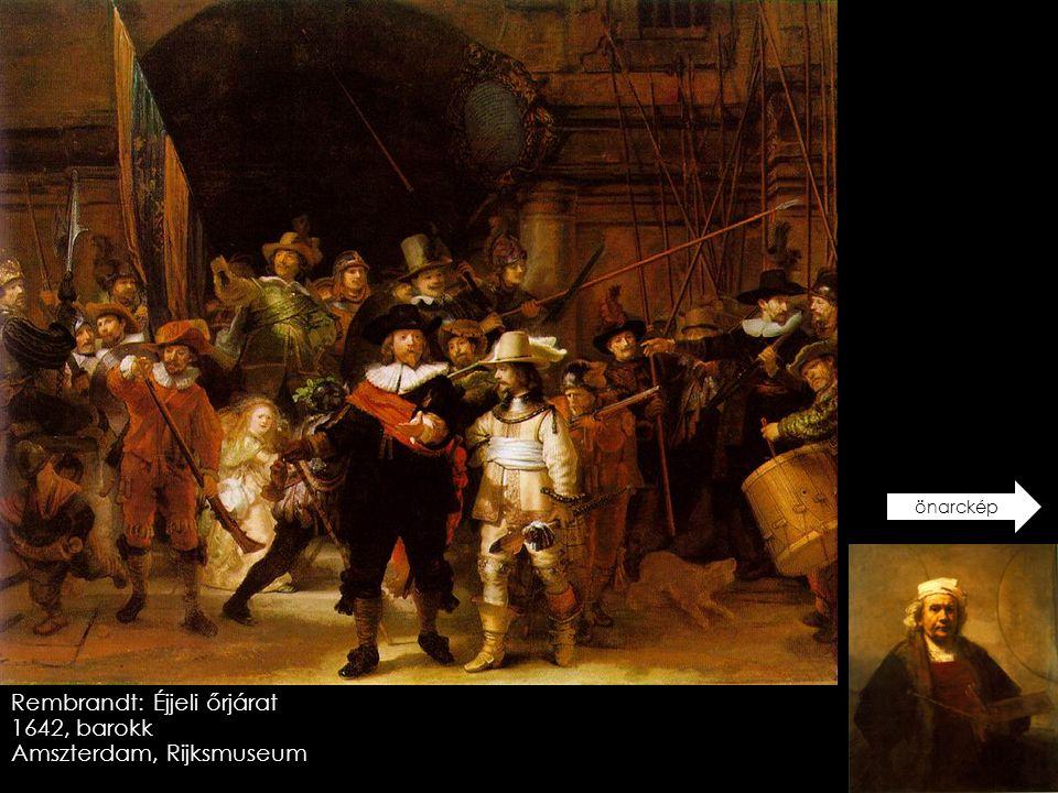 Rembrandt: Éjjeli őrjárat 1642, barokk Amszterdam, Rijksmuseum