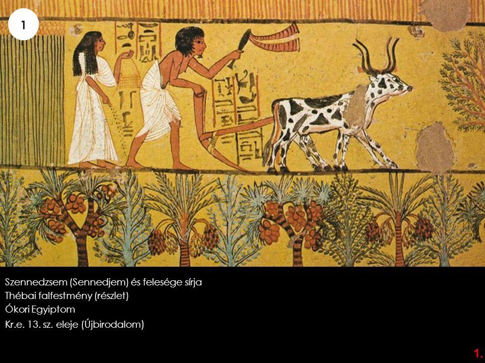 1 1. Szennedzsem (Sennedjem) és felesége sírja