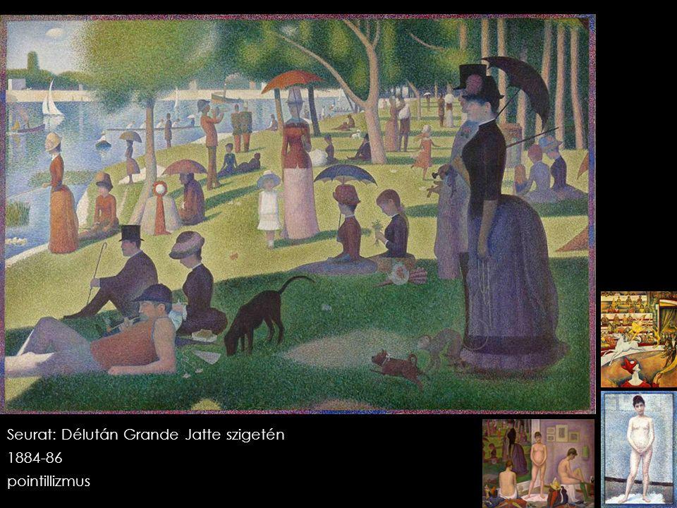 Seurat: Délután Grande Jatte szigetén