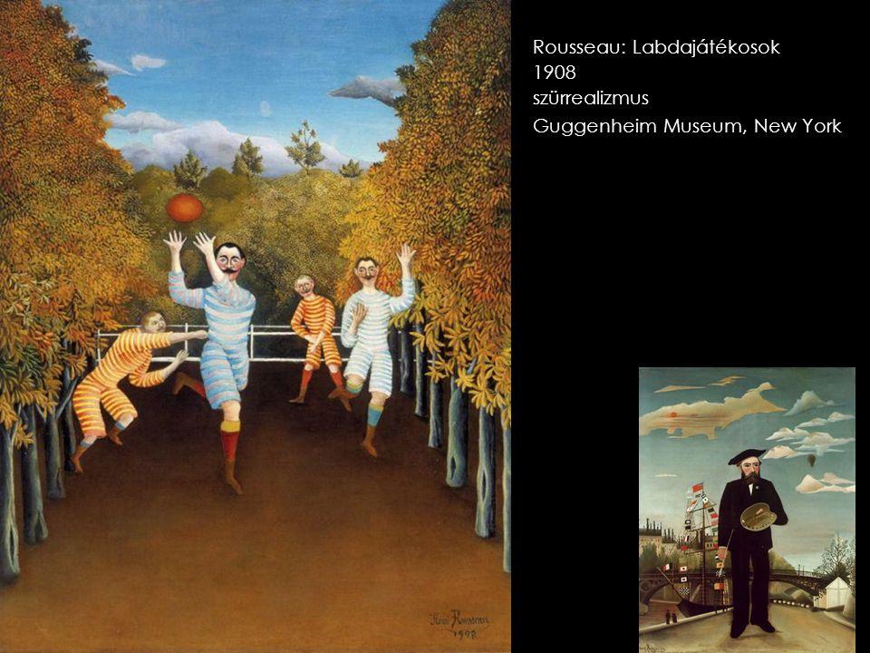 Rousseau: Labdajátékosok