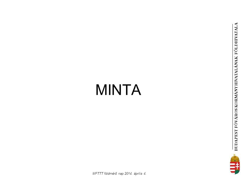 MFTTT földmérő nap 2014. április 4.