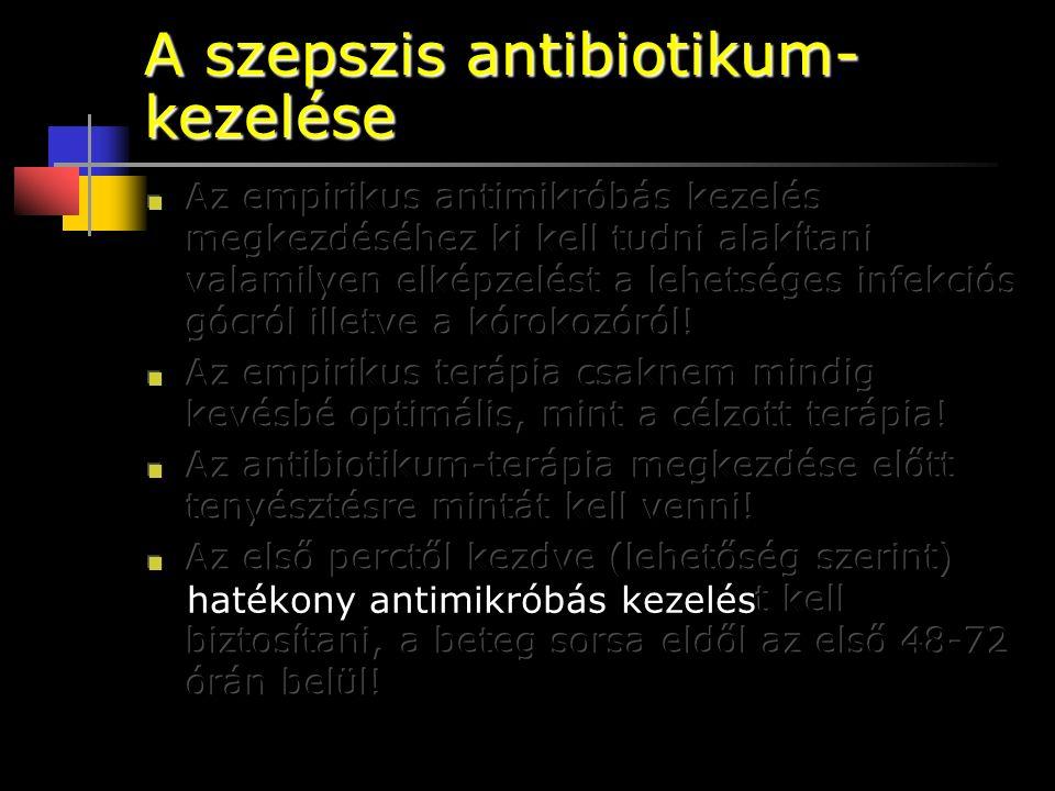 A szepszis antibiotikum-kezelése