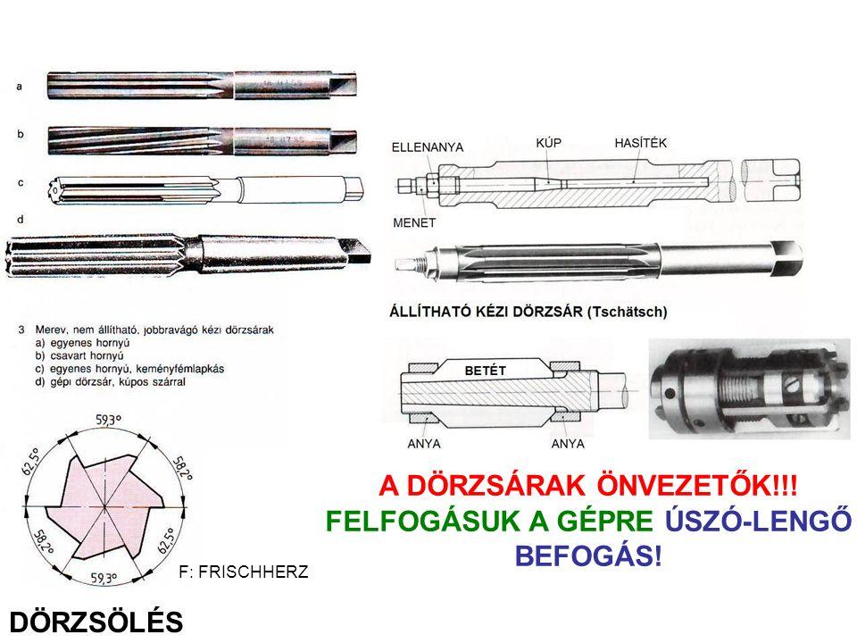 FELFOGÁSUK A GÉPRE ÚSZÓ-LENGŐ BEFOGÁS!