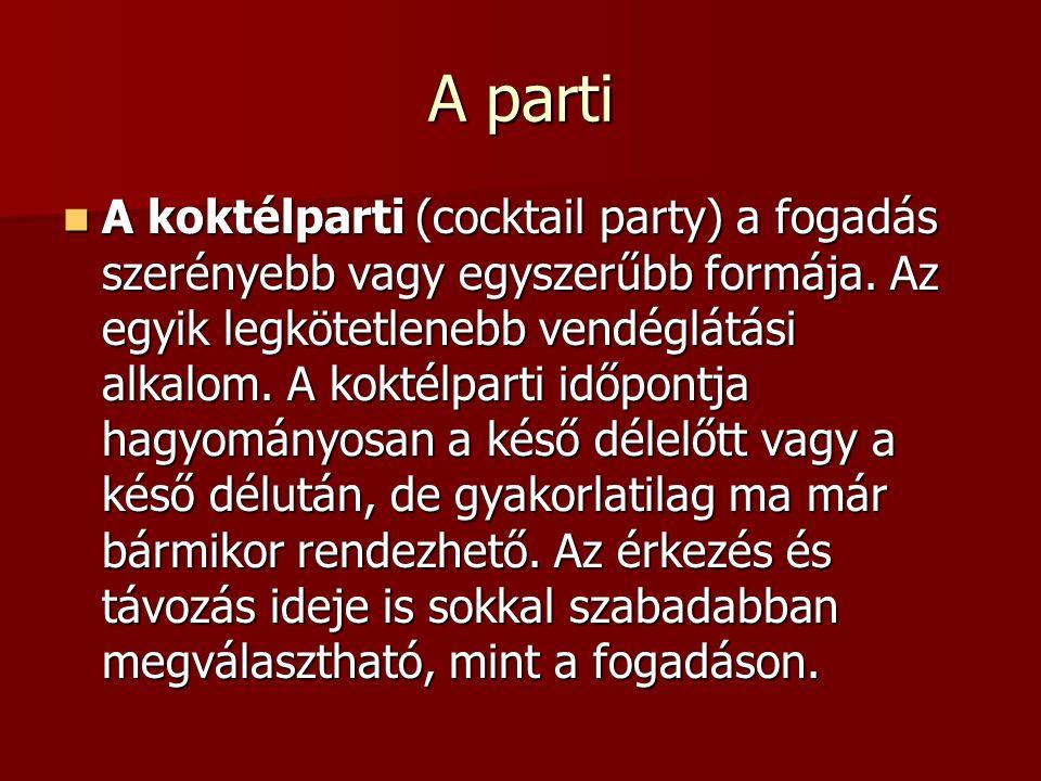 A parti
