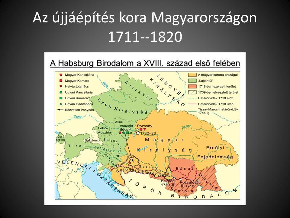 Az újjáépítés kora Magyarországon 1711--1820