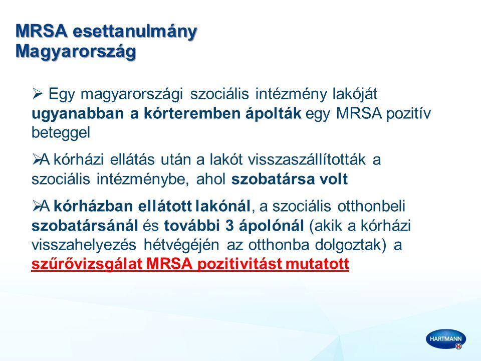 MRSA esettanulmány Magyarország